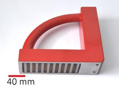 Držák F8009 pravoúhlý