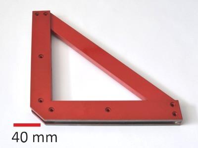 Držák F806 pravoúhlý