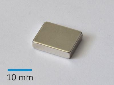 N30SH 15x12x3,5 mm Ni