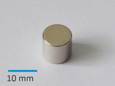 N35 D10x10 mm, Ni