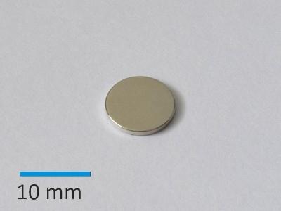 N35 D10x1 mm, Ni