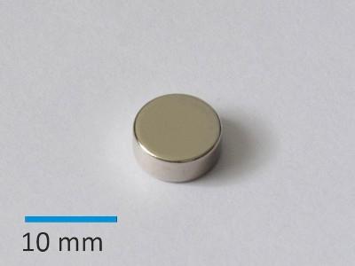 N35 D10x4 mm, Ni