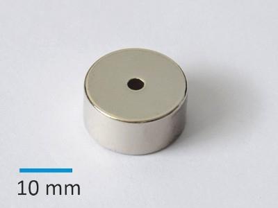 N35 D20xd3x10 mm Ni D
