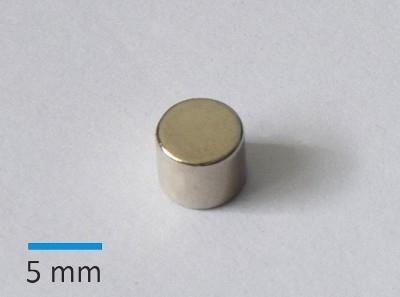 N35 D6x5 mm Ni