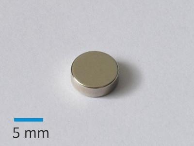 N35 D9x3 mm Ni