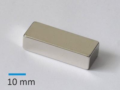 N42 40x15x10 mm Ni