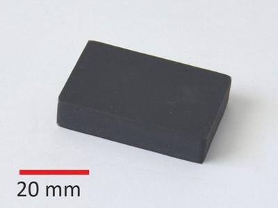 Y35 45x30x10 mm, pryž