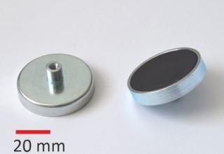 RM11D04 D50x10mm, M4